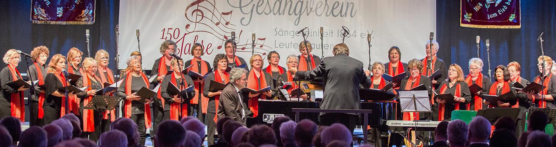 Frauenchor bei 150 Jahre Konzert