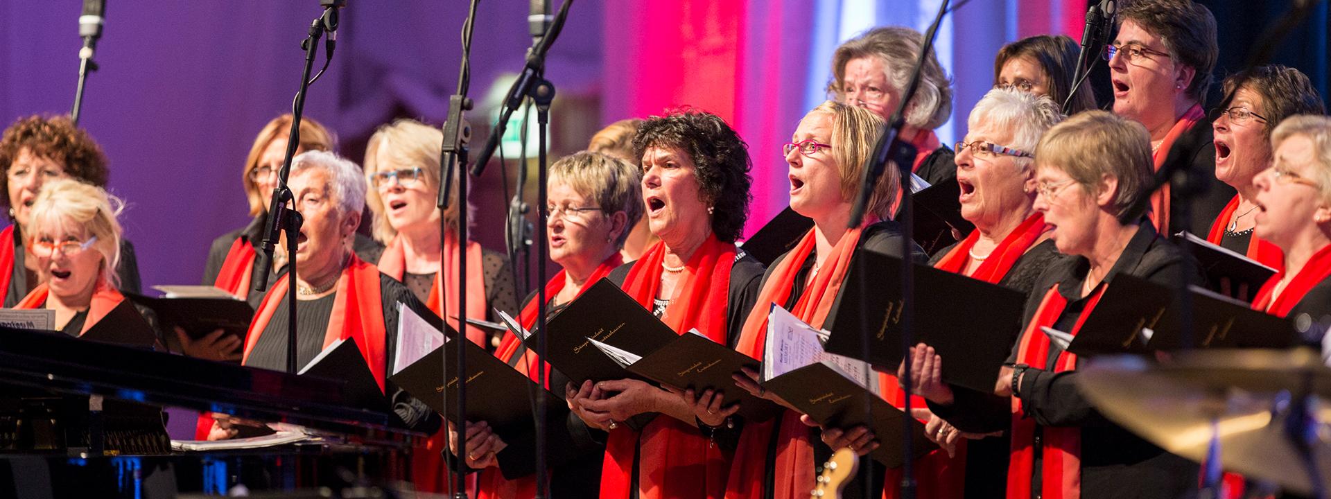 Auftritt des Frauenchors