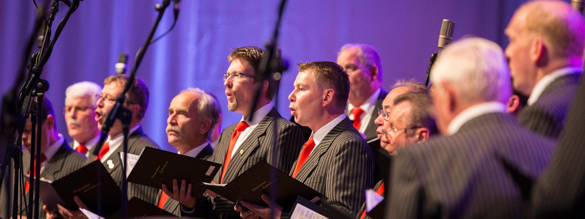 Auftritt des Männerchors